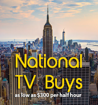 National TV Buys